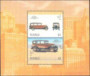 Tuvalu #414-425c, Complete Set(13), 12 Pairs + Souvenir Sheet, 1987, Auto, Ne...