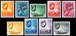 Seychelles Scott 127a // 145a (1941-49) Mint H VF, CV $94.90 B