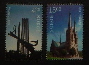 Norway 1266-67. 2000 Skien anniversary, NH
