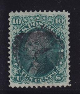 96 VF-XF used neat cancel Weiss cert with nice color cv $ 260 ! see pic !