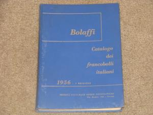 Bolaffi, Catalog dei Francobolli Italian, 1956 Edition