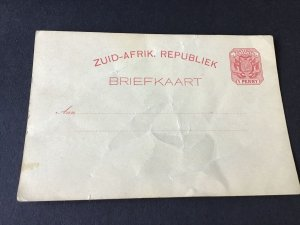 South africa republic early stamps card stamps cover Ref R28772