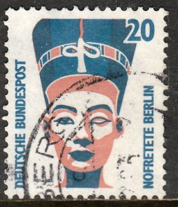GERMANY-BERLIN 9N545 20pf QUEEN NEFERTARI. Used. VF. (22)