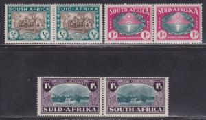 South Africa B9-B11 Set VF previously hinged nice colors scv $ 52 ! see pic !