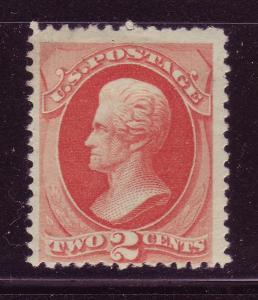 183 Unused,  2c. Jackson,  Lg. Banknote,  scv: $130