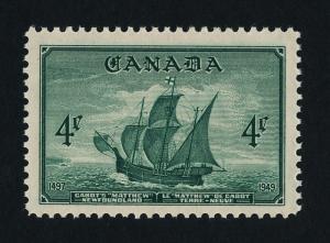 Canada 282 MNH Cabot's ship Matthew