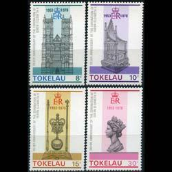 TOKELAU 1978 - Scott# 61-4 Coronattion Set of 4 NH