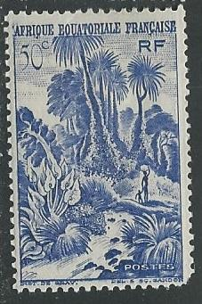 French Equatorial Africa  + Scott # 169 - MH