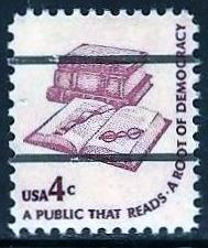 PCBstamps  US #1585a  4c (=) A Public that Reads, MNH