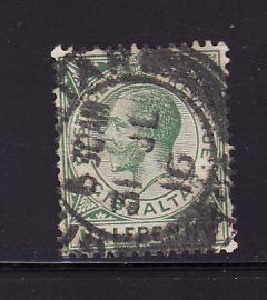 Gibraltar 66 U King George V (B)