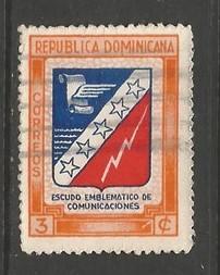 Dominican Republic 417 VFU Z1293-6