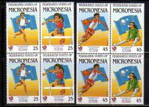 Micronesia MNH sc# 64a-6a Sports 08CV  $2.65