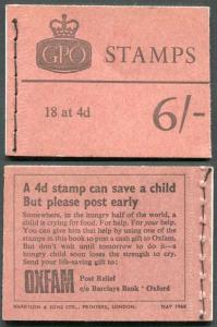 May 1968 Booklet SGQP36 Complete