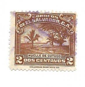 EL Salvador 1935- U - Scott #560