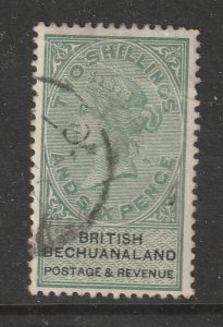 Bechuanaland a used QV 2/6