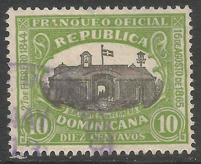 DOMINICAN REPUBLIC O8 VFU Z2913