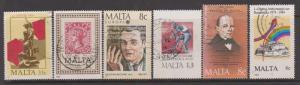 Malta 1975-1985 x 6 Various Used