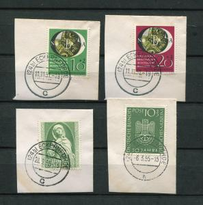 Germany #B318-19,B327, B331 used VF
