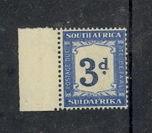 South Africa Scott J27 Mint hinged (Catalog Value $85.00)