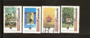 CANADIAN SET ON  ARRIVAL OF UKRAINIANS USED STAMPS  LOT#241