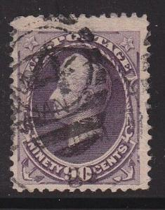218 VF+ neat cancel nice color cv $ 250 ! see pic !