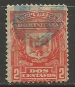 Dominican Republic 89 VFU ARMS W097-5