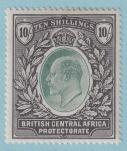 BRITISH CENTRAL AFRICA 67 MINT HINGED OG *  NO FAULTS VERY FINE!