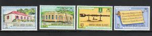 VIRGIN ISLANDS #301-304  1975 RESTORATION OF LEGISLATIVE COUNCIL  MINT VF NH O.G