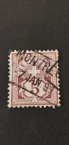 Switzerland #71 Used