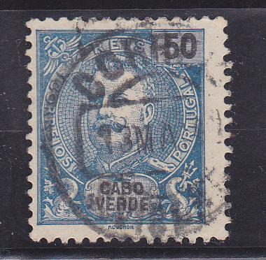Cape Verde  Scott#  44  Used