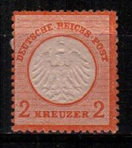 Germany Scott 8 Mint hinged (Catalog Value $37.50)