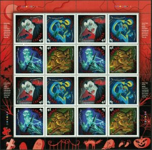 #1668a - Canada - 45c Sheet of Stamps - 1997 - The Supernatural - superfleas