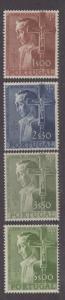 **Portugal, SC# 800-803 MLH, VF Complete Set, CV $112.80 (NH)