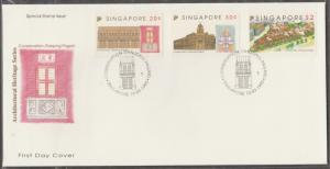 Singapore 1993 Architectural Heritage Series - Conservation Tanjong Pagar FDC