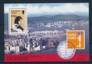[31044] Ascension 1997 Birds Vögel Oiseaux  Hong Kong Stamp Expo MNH  Sheet