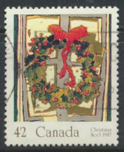 Canada  SG 1256 Used Christmas 1987   SC# 1149   see scan