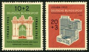 Germany  Sc.# B 332-3  MH*