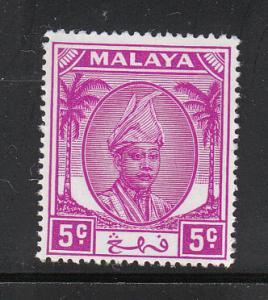 Malaya Pahang 1950 Sc 65 5c MH
