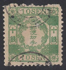 JAPAN An old forgery of a classic stamp....................................54562
