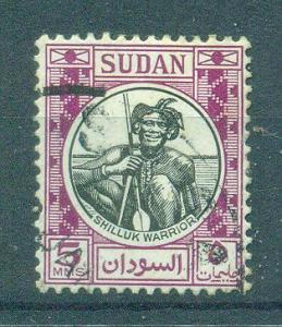 Sudan sc# 102 used cat value $.25