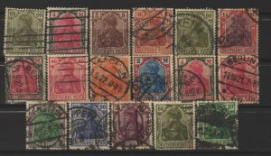COLLECTION LOT # 3361 GERMANY 17 STAMPS 1920+ CLEARANCE CV+$32