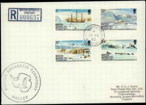 British Antarctic Territory #95, Antarctic Cachet and/or Cancel