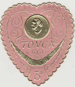 Tonga #136 MNH F-VF  (ST1805)