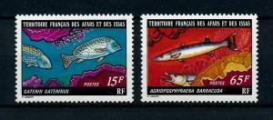 [99473] Afars and Issas 1977 Marine Life Fish  MNH
