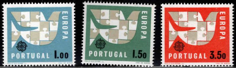 PORTUGAL Scott 916-918 Europa set MNH**