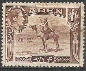 ADEN, 1946, used 3/4a, Camel Corpsman Scott 17