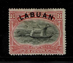 Labuan SG# 68, Mint Hinged, Hinge Remnants, see notes - S1413