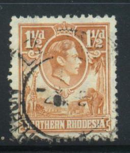 Northern Rhodesia Sct # 30; Used