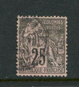 French Colonies #54 Used