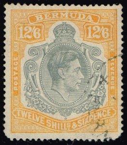 Bermuda #127a King George VI; Used (3Stars)
